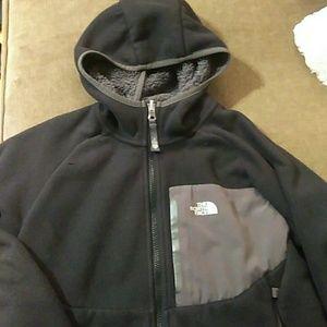 Boys Northface Hooded Fleece